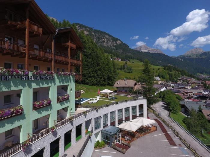 Fahrradfahrerfreundliches Hotel Stella Montis in Campitello di Fassa