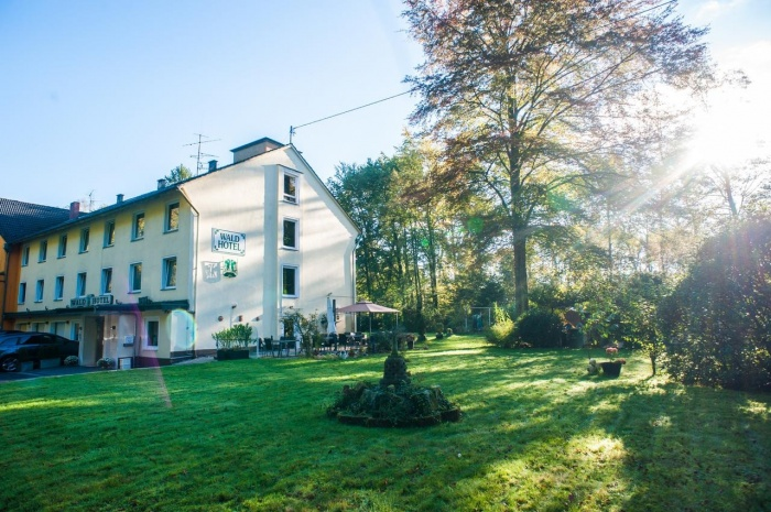 Fahrradfahrerfreundliches Wald Hotel in Troisdorf