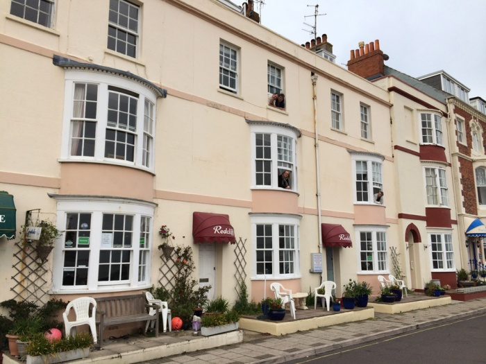 Motorrad The Redcliff B&B Guest House in Weymouth