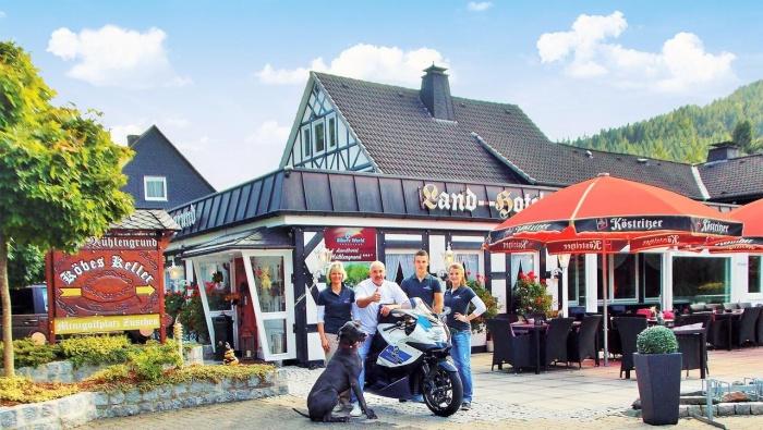 Motorrad Landhotel Mühlengrund in Winterberg