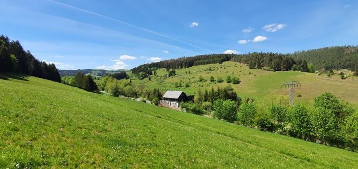 Fahrradfahrerfreundliches Pension Obere Juchhe in Grafenthal