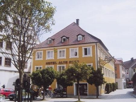 Motorrad Romantik Hotel Alte Post in Wangen