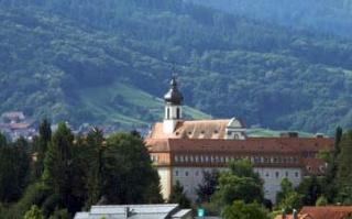 Motorrad Kloster Maria Hilf in Bühl